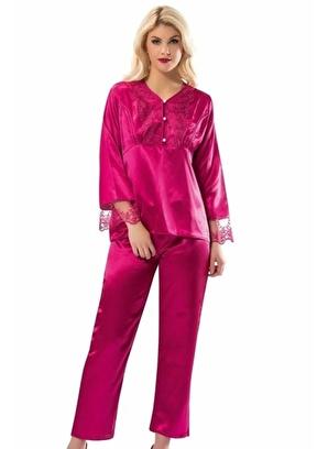 Sistina Kadın Saten Pijama Takım